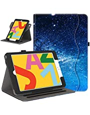 حافظة Retear لجهاز iPad الجيل الثامن الجديد (2020) / الجيل السابع (2019) 10.2 بوصة - 360 درجة دوران ذكي من جلد البولي يوريثان مع خاصية التنبيه/السكون التلقائي