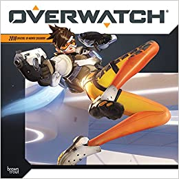 Overwatch 2018 12 x 12 Inch Monthly Square Wall Calendar, Video