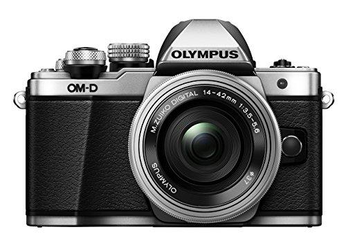Olympus OM-D E-M10 Mark II Mirrorless Digital Camera with 14-42mm EZ Lens (Silver)- International Version (No Warranty)