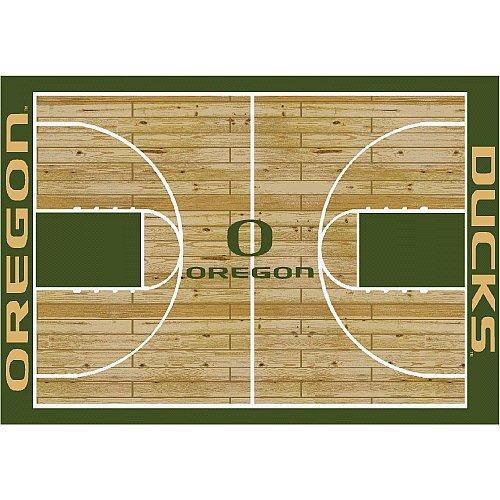 Oregon Ducks College Basketball 5x7 Rug from Miliken