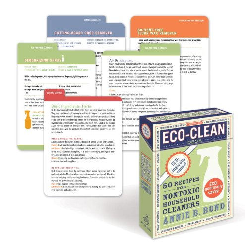 Eco-Clean Deck: 50 Recipes for Non-Toxic Household Cleaners ebook