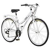 "Schwinn Discover Women's Hybrid Bike (700C Wheels),White,28"""
