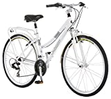 Schwinn Discover Women's Hybrid Bike (700C Wheels),White,28""