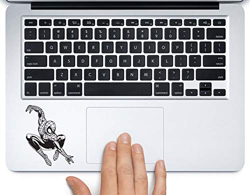 Spiderman Full Body Marvel Superhero Printed Trackpad Clear Vinyl Decal Sticker Compatible with Apple MacBook Pro Air 11