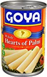 Goya Foods Whole Hearts of Palm (Palmitos), 14-Ounce (pack of 12)