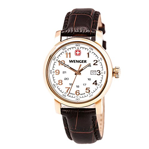 Wenger-011021108-Womens-Urban-Classic-White-Dial-Rose-Gold-Steel-Black-Leather-Strap-Watch