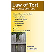 Law of Tort for OCR AS Level Law: with an introduction to the nature of law