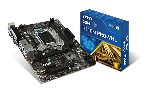 3. MSI H110M Pro-VHL Mainboard Price