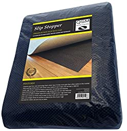 Rug Pad Non Slip. Stop Slipping with this Large Premium 6x9 Mat made from a New Foam giving Superior Grip to Reduce Rug Skidding on Hard Floors. Provides Nonslip & Padding which Felt Pads Don\'t