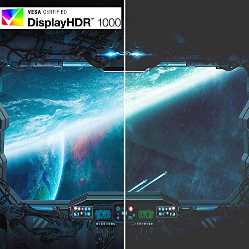 """Acer Predator X35 bmiphzx 1800R Curved 35"""" UltraWide QHD Gaming Monitor with NVIDIA G-SYNC Ultimate, Quantum Dot, 200Hz, VESA Certified DisplayHDR 1000, (Display Port & HDMI Port),Black"""