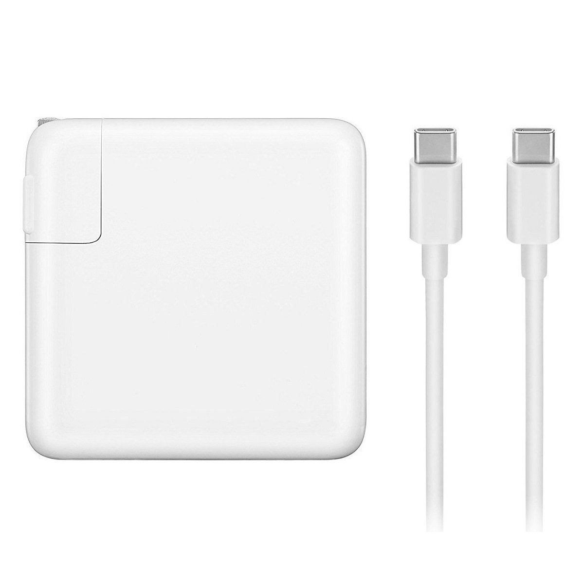 iProPower 87W USB C Power Adapter Charger with USB-C to USB-C Charge Cable 6.56 ft