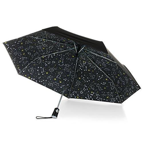 - totes Under Canopy Print Auto Open Close Umbrella