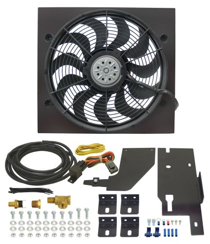 Derale 20161 Jeep Wrangler Direct Fit Electric Fan Kit ()