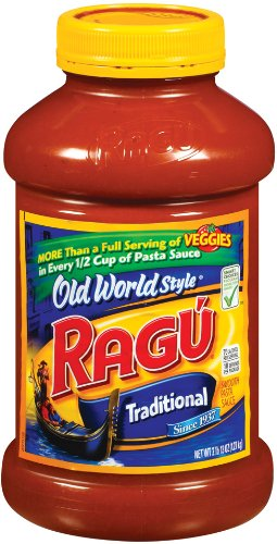 Ragu Pasta Sauce Old World Style Traditional 45ounce