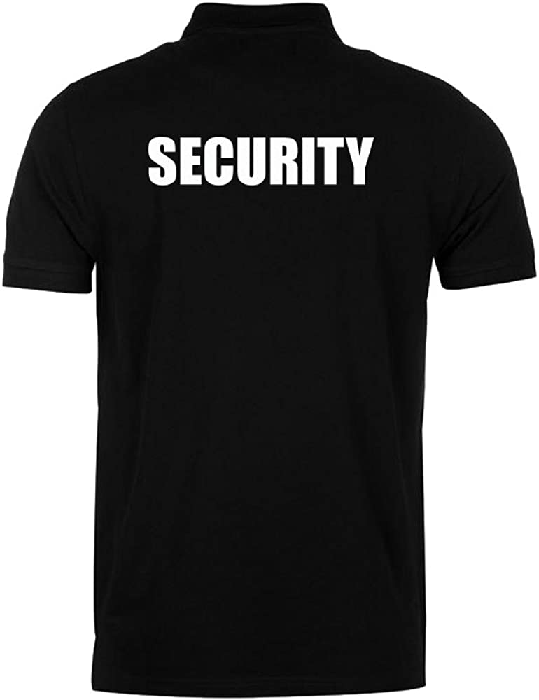 Workwear World Security Embroidered /& Printed Doorman Bouncer Classic Work Polo Shirt