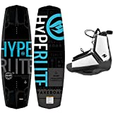 Search : Hyperlite New 2019 Wakeboard Machete with Destroyer Wakeboard Bindings Fits Most Shoe Sizes
