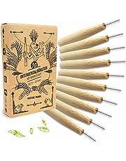 Nature Nerds - interdentale ragers in een set (pak van 10), 0,4 mm, ISO 0, gemaakt van duurzaam geteelde bamboe / 10 interdentale ragers