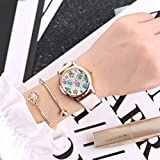 Women Watch,Todaies Cute Owl Women Fashion Leather Band Analog Quartz Round Wrist Watch Watches (white)