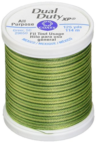 Coats: Thread & Zippers Dual Duty XP General Purpose Thread, 125-Yard, Spring ()