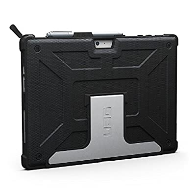 URBAN ARMOR GEAR Surface Pro 4 Case-Red/Black-Visual Packaging (UAG-SFPRO4-RED-VP)