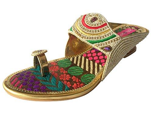 Step n Style - Sandalias de vestir de Material Sintético para mujer Multicolor multicolor Multicolor - multicolor