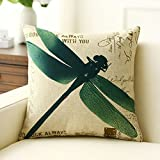 American country-style hug pillowcase hold cotton pillowcase Feather silk cushions pillowcase for sofa and bed -B 55x55cm(22x22inch)VersionB