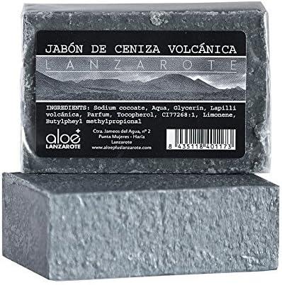 Aloe Plus Lanzarote. Jabón para el cuidado facial hecho a mano ceniza volcánica