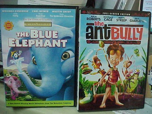 The Blue Elephant , the Ant Bully : Family Movie 2 Pack Collection