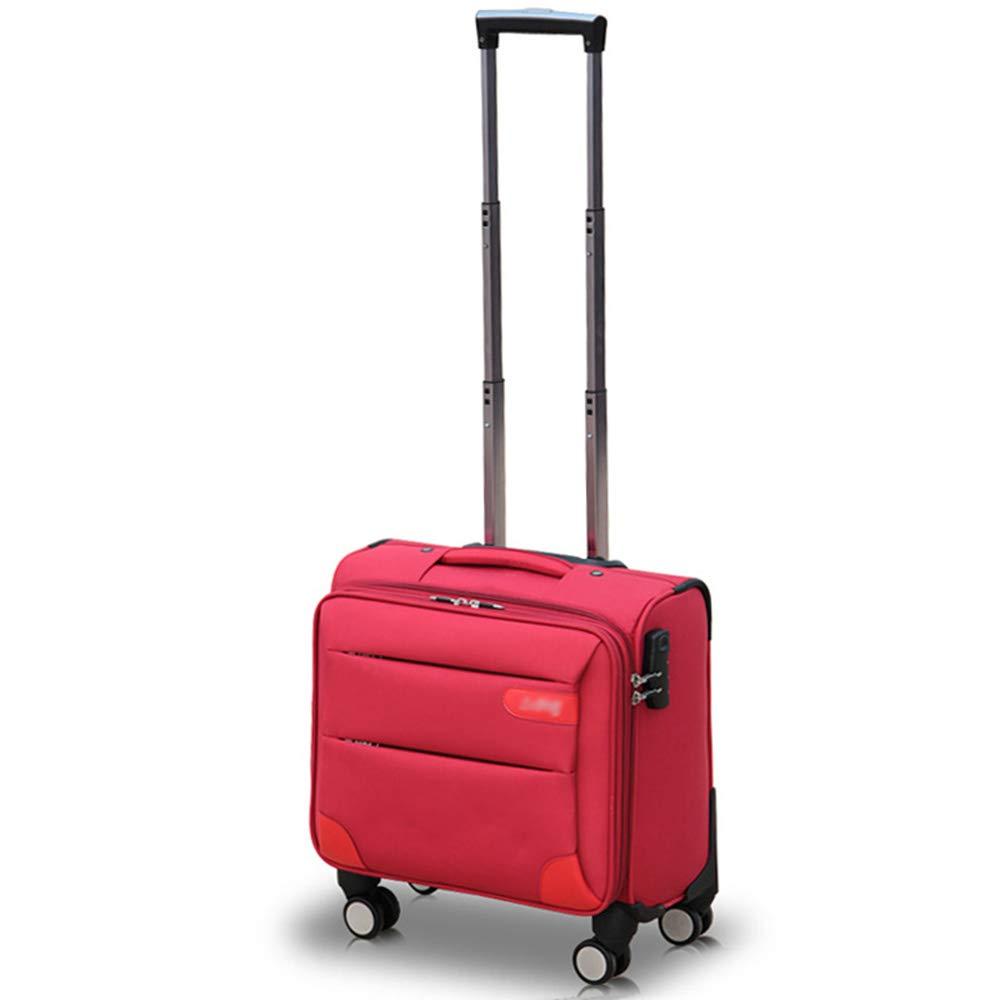 QL-スーツケース ビジネストロリーケースオックスフォード布フライトアテンダント搭乗スーツケース小さなスーツケース用男性と女性用飛行機 - 4サイズ 旅行用品 (Color : C, Size : 43*21*38cm) B07T6YFLKY C 43*21*38cm