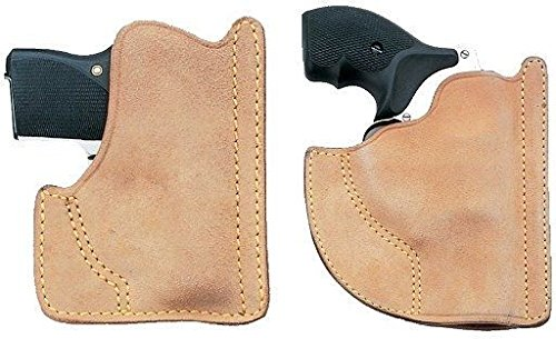 Galco Front Pocket Horsehide Holster (Natural), Walther PPK, Ambidextrous ()