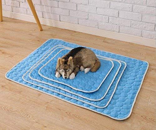 elementi di novità FERZA Home Raffreddare Cool Mat Mat Pad Padper Puppy Puppy Puppy Dog Cat in Estate 62  50cm Pet Bed Coperta Non tossico Cane Self Cat Pet Cooler  prima qualità ai consumatori
