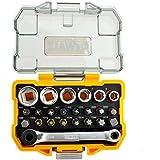 Dewalt DT71516 QZ Set con Inserti e Bussole per Avvitare , Confezione da 24
