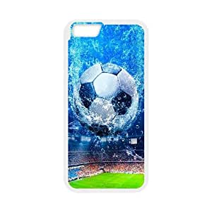 Fifa World Cup Brazil iPhone 6 6s Plus 5.5 Inch Cell Phone Case White 91INA91331076