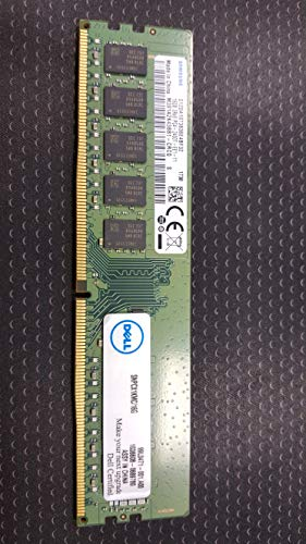 Dell 16GB Certified Memory Module - 2RX8 DDR4 UDIMM 2400MHZ ECC