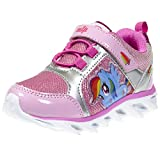 My Little Pony Light up Rainbow Dash Pink Sneakers Girls
