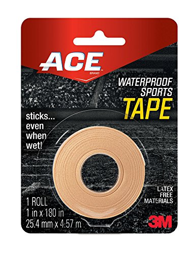 ACE Waterproof Sports Tape, (Pack of 6)