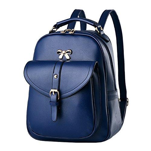 Ayer Bolsa De Hombro Bolsa De Mujer U Bolsa De Cuero Backpacker Bolsa De Estudiante De Escuela Secundaria 2