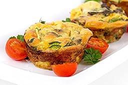Marathon Housewares KW200016RD Premium Silicone Bakeware Jumbo Muffin Pan, Red