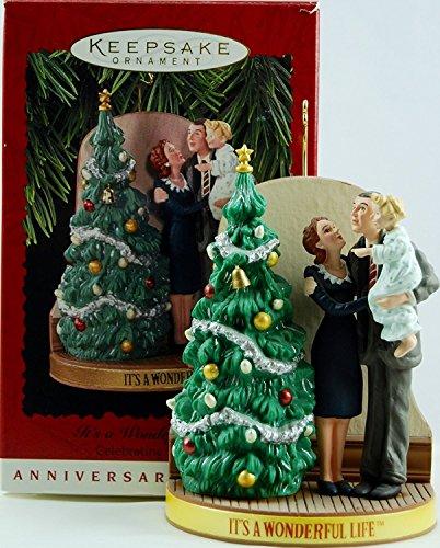 1996 It's a Wonderful Life Hallmark Keepsake Ornament (Village Life Wonderful)