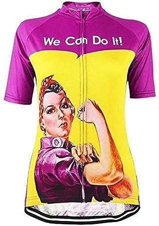21Grams Maillot Ciclismo Mujer Manga Corta Camiseta Bicicleta ...