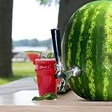 Blazin' Watermelon Tap - Brass and Chrome Keg Kit - Pumpkin Fruit Ice Tea Drink Dispenser