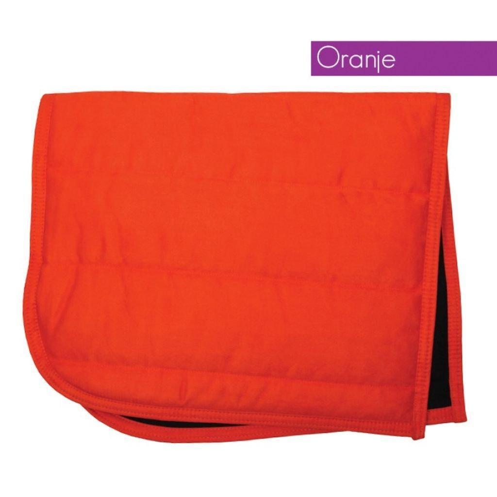 QHP Puff Saddle Pad Pony orange