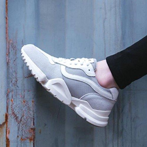 Primavera los ocasionales Zapato en Malla para GAOLIXIA Creamy atléticos deportivos Zapatos white Zapatos gruesos Zapatos mujer correr deslizamiento livianos para Caminar Damas entrenadores Zapatos de Transpirable X77qwf