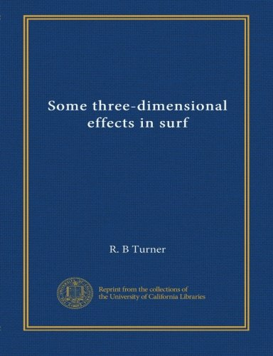 Some three-dimensional effects in surf