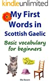 My First Words in Gaelic: Basic vocabulary for beginners (Learn Gaelic Book 1)