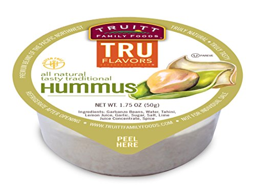 Truitt Family Foods Flavors All Natural Tasty Traditional Hummus, 10.6 Pound (Pack of 72) by Truitt Family Foods