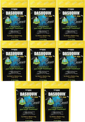 ValuePetSupplies Nutramax Dasuquin Soft Chews w/MSM for Small/Medium Dogs 672ct (8 x 84ct)