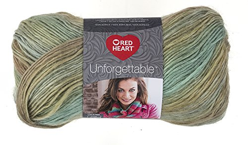 Red Heart Boutique Unforgettable Yarn, Meadow (Meadow Heart)