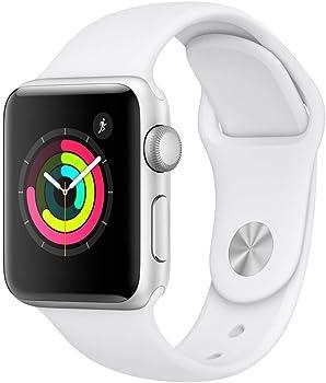 Apple Watch Series 3 38mm GPS Smartwatch (White)