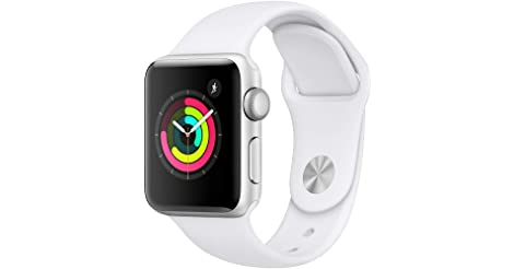 Apple Watch Series 3 38mm GPS Smartwatch (White) only $189.99
